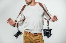 Camera strap Double shoulder camera strap Dual camera strap Canon ...