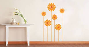 Daisy Flower Wall Decals Dezign With A Z
