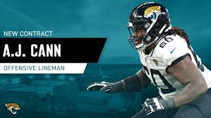 Jaguars re-sign offensive lineman A.J. Cann