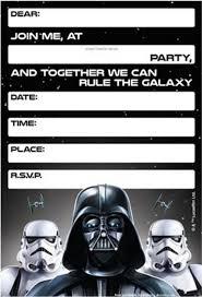 Free Printable Star Wars Birthday Invitations Template Updated Star Wars Invitations Star Wars Birthday Invitation Star Wars Party Printables