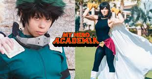 my hero academia cosplays