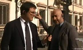 Gianluigi Paragone dopo le dimissioni di Di Maio a l'Aria ...