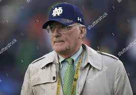 Notre Dame Athletic Director Jack Swarbrick during Editorial Stock Photo -  Stock Image | Shutterstock