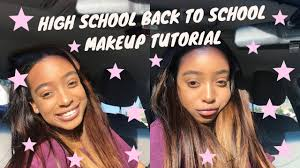 easy back to makeup tutorial