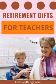 funny retirement gifts for teachers