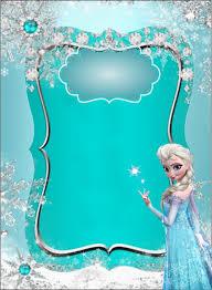 Kit Imprimible Gratis De Frozen En 2020 Invitaciones Cumpleanos