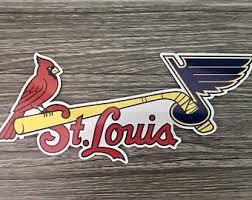 2x St Louis Stl City Logo 2 Sticker Decal Vinyl Car Window Cardinals Baseball Ushirika Coop