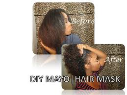 mayo mask treatment routine for hair