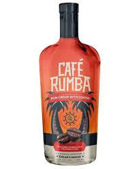cafe rumba rum cream coffee liqueur ml