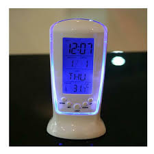 Clock Children Room Mini Kids Time Alarm Projection Led Display Night Light For Sale Online Ebay