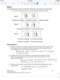 balancing chemical equations in