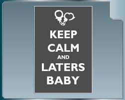 Keep Calm And Laters Baby Funny Shades Of Grey Bumper Sticker Car Decal Http Www Amazon Com Dp B009133p36 Ref Cm Sw Bumper Stickers Funny Babies Car Decals