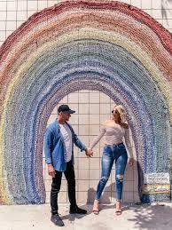 la wall series rainbows wall not a