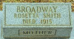 Rosetta Smith Broadway (1880-1915) - Find A Grave Memorial