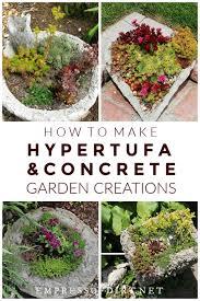 how to make hypertufa pots recipe