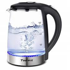 off on topwit electric kettle water