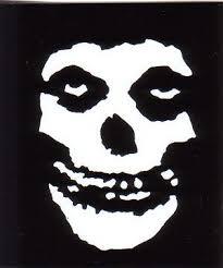 Stickers Misfits Skull Misfits Misfits Logo