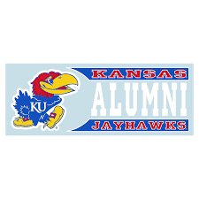 University Of Kansas Jayhawks Color Car Truck 5 Year Vinyl Decal Sticker