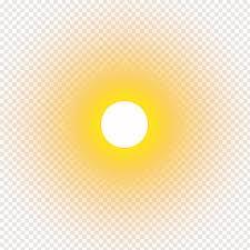 yellow circle real sun sun free png