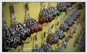 punk earrings jhumka earrings indian