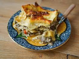 bacon and mushroom lasagna recipe
