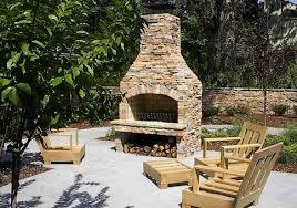 outdoor fireplace kits lovetoknow