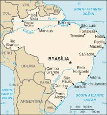Victoria, Brazil Map with Wikipedia Places