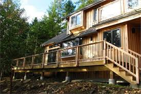 cabin plan with sundeck