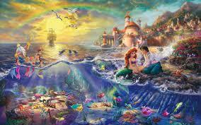 60 the little mermaid hd wallpapers