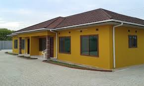 zambia six semi detached houses for