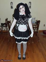 living dead doll halloween costume