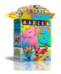 Mega Kit Imprimible Pocoyo Cotillon Cumpleanos Infantiles2x1