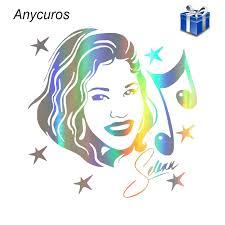 Anycuros Selena Quintanilla Singer Actress Music Fashion Car Sticker 13cm 13cm Car Stickers Aliexpress