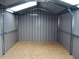 building a metal shed is it a good