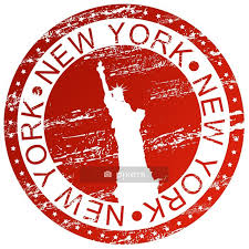 Stamp New York Usa Wall Decal Pixers We Live To Change