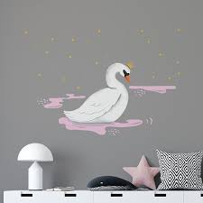 Night Swan Princess Wall Decal Baby Child Order Online Paper11