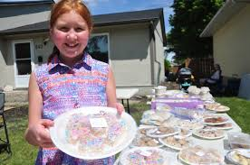 Young cancer survivor hopes bake sale will add to more than $32K raised for  hospital that 'saved my life'   CBC News