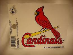 St Louis Cardinals Static Cling Sticker New Window Or Car Hub City Sports