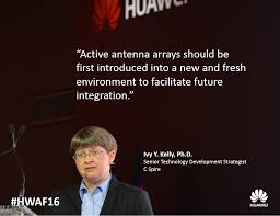 "Huawei Antenna on Twitter: ""Ivy Y. Kelly @CSpire shared insights on  strategic network Innovation with Active Antenna #HWAF16… """