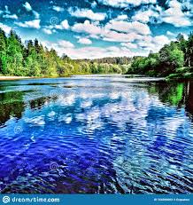 summertime nature silence peace stock image image of like