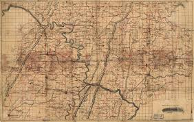 Map of portions of Virginia, West Virginia, and Maryland, centering on  Harpers Ferry and including Winchester, Hancock, Emmitsburg, and  Ridgeville, Maryland.] | Library of Congress