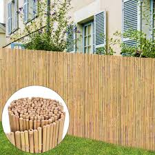 Bay Isle Home Florentine Bamboo Garden Fence Wayfair Co Uk