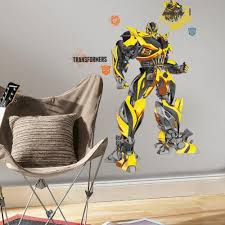 Transformers Age Of Extinction Bumblebee Giant Wall Decal Roommates Decor