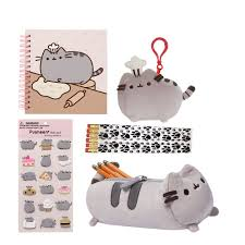 Country Art House Bundle Back To School Gund Pusheen Notebook Accessory Case Stickers Chef Backpack Clip And Paw Print Pencils Walmart Com Walmart Com
