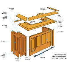 how to build a bar diy home bar