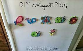 activities for kids make your own magnets