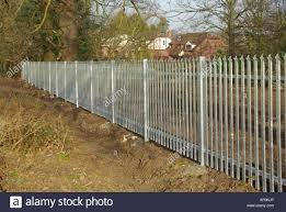Galvanised Fence High Resolution Stock Photography And Images Alamy