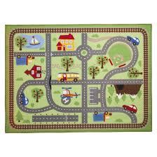 Circo Road Activity Mat Area Rug 40x54 Manualidades Manualidades En Tela Cosas De Ninos