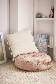 Amya Velvet Pillow Pouf Ad インテリア 寝室 ソファ
