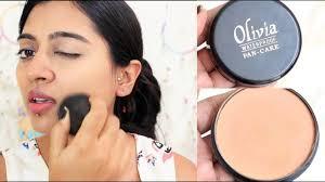 olivia pan cake makeup review how to